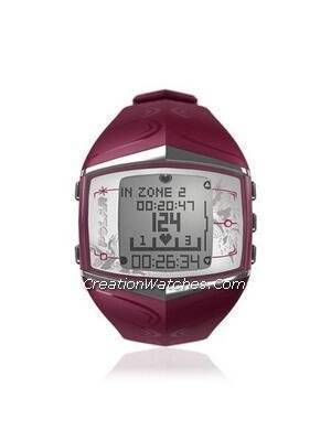 Polar Fitness Training Heart Rate Monitor Watch FT60F Purple