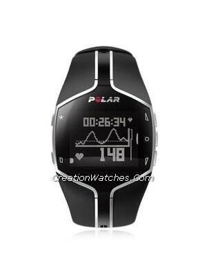 Polar Fitness & Training Heart Rate Monitor Watch FT80 with G1