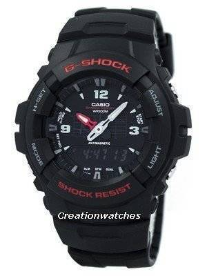 Casio G-Shock Analog Digital 200M G-100-1B Men's Watch