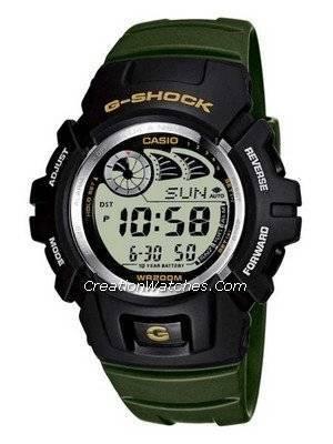 Casio G-Shock Alarm Stopwatch Men's Watch G-2900F-3V G2900F-3VDR