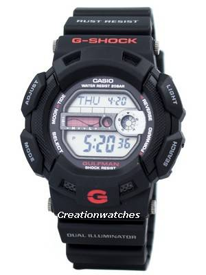Casio G-Shock Gulfman G-9100-1DR G9100-1DR G-9100 G-9100-1 G9100 Men's Watch