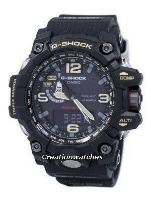 Casio G-Shock Mudmaster Triple Sensor Atomic GWG-1000-1A Men's Watch