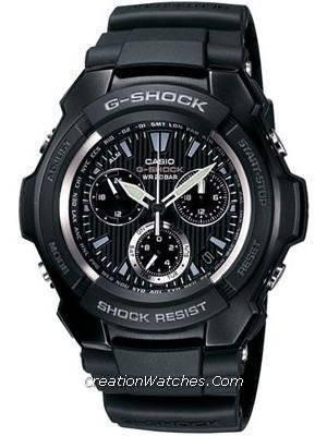 Casio G-Shock GShock Chronograph World Time G-1000H-1ADR G1000H