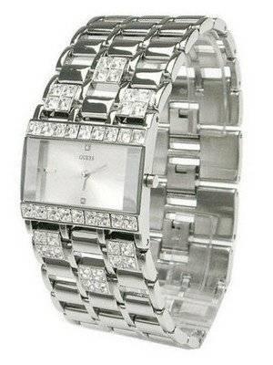 Guess Silver Crystal Quartz G95484L Womens Watch