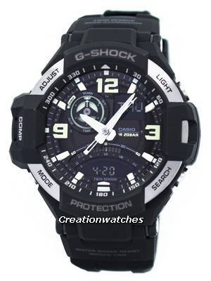 Casio G-Shock Gravitymaster Twin Sensor GA-1000-1B Men's Watch
