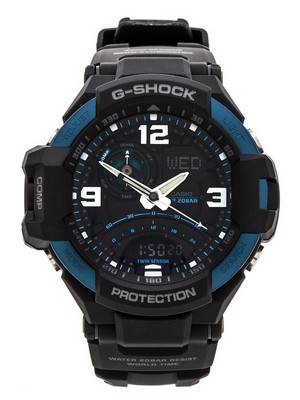 Casio G-Shock GRAVITYMASTER Neon Illuminator GA-1000-2B Men's Watch