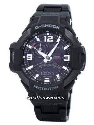Casio G-Shock Twin Sensor GRAVITYMASTER GA-1000FC-1A Men's Watch