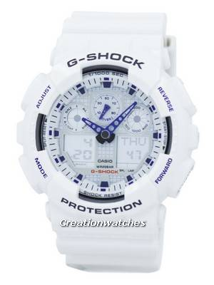 Casio G-Shock Analog-Digital GA-100A-7A Mens Watch