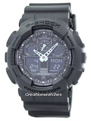 Casio G-Shock Analog-Digital GA-100C-8A Men's Watch