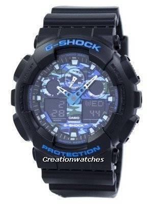 Casio G-Shock Analog Digital GA-100CB-1A Men's Watch