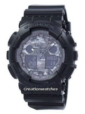 Casio Camouflage Series Analog Digital GA-100CF-1A Men's Watch