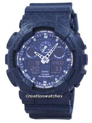Casio G-Shock Shock Resistant World Time Analog Digital GA-100CG-2A GA100CG-2A Men's Watch