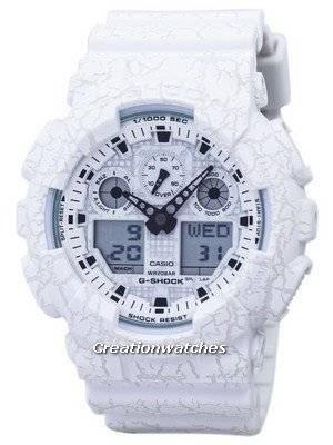 Casio G-Shock Shock Resistant World Time Analog Digital GA-100CG-7A GA100CG-7A Men's Watch