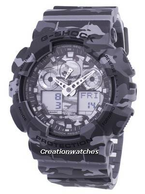 Casio G-Shock Camouflage Series Analog Digital GA-100CM-8A GA100CM-8A Men's Watch
