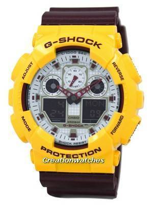 Casio G-Shock Analog Digital GA-100CS-9A GA100CS-9A Men's Watch