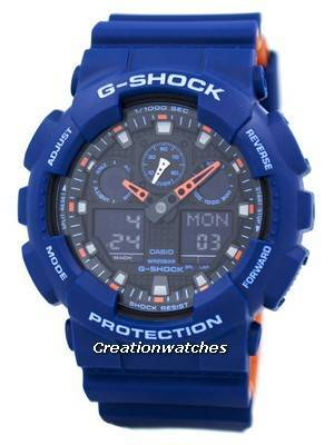 Casio G-Shock Special Color Model Analog-Digital GA-100L-2A GA100L-2A Men's Watch