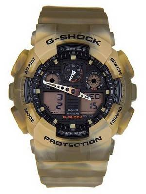 Casio G-Shock Camouflage Series Analog-Digital GA-100MM-5A Men's Watch