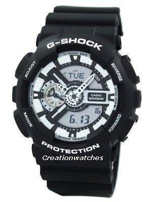Casio G-Shock White And Black Series GA-110BW-1A Men's Watch