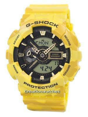 Casio G-Shock Camouflage Series Analog-Digital GA-110CM-9A Men's Watch