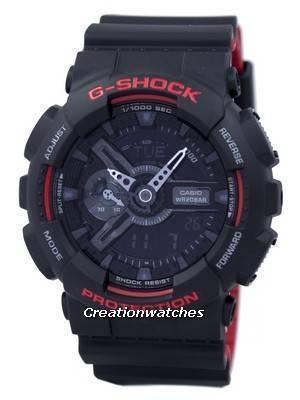 Casio G-Shock Special Color Shock Resistant Analog Digital GA-110HR-1A GA110HR-1A Men's Watch