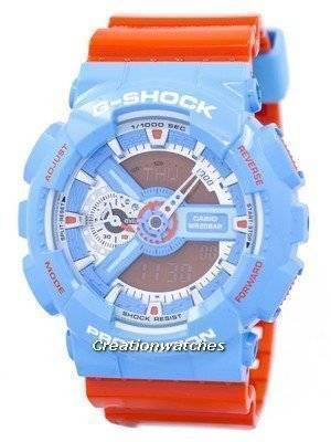 Casio G-Shock Shock Resistant Analog Digital GA-110NC-2A GA110NC-2A Men's Watch