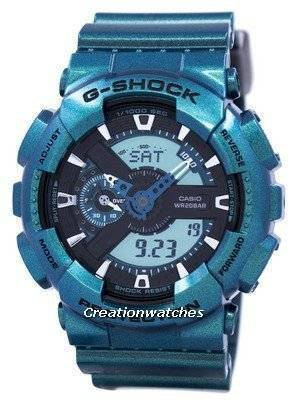 Casio G-Shock Shock Resistant World Time Analog Digital GA-110NM-3A GA110NM-3A Men's Watch