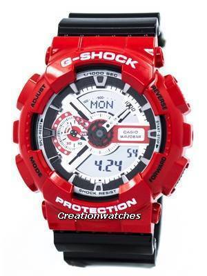 Casio G-Shock Analog-Digital GA-110RD-4A Men's Watch
