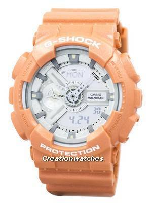 Casio G-Shock Orange Analog Digital GA-110SG-4A GA110SG-4A Men's Watch