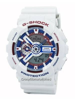 Casio G-Shock Analog Digital World Time GA-110TR-7A GA110TR-7A Men's Watch