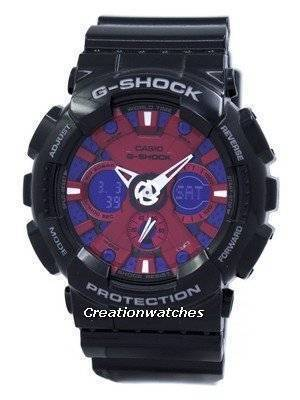 Casio G-Shock Black Analog Digital GA-120B-1A GA120B-1A Mens Watch