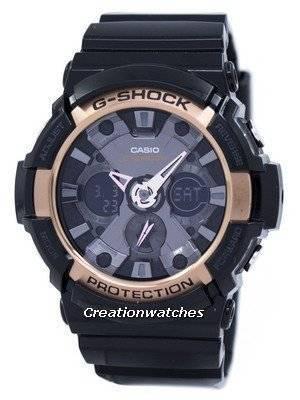 Casio G-Shock Rose Gold Accented GA-200RG-1A Men's Watch