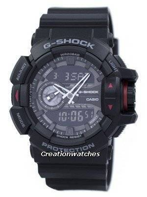 Casio G-Shock Analog Digital GA-400-1B Men's Watch