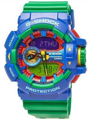 Casio G-Shock Analog-Digital Hyper Colors 200M GA-400-2A Men's Watch