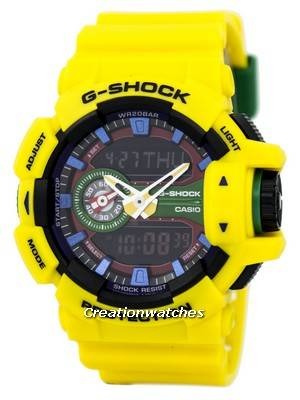 Casio G-Shock Analog-Digital Multi-Color GA-400-9A GA400-9A Men's Watch