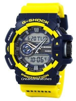 Casio G-Shock Analog-Digital Multi-Color 200M GA-400-9B Men's Watch