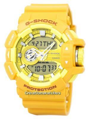 Casio G-Shock Analog-Digital 200M GA-400A-9A GA400A-9A Men's Watch
