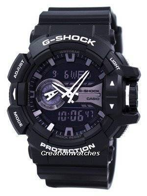 Casio G-Shock Analog Digital World Time GA-400GB-1A Men's Watch