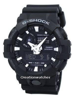 Casio G-Shock Analog Digital GA-700-1B GA700-1B Men's Watch