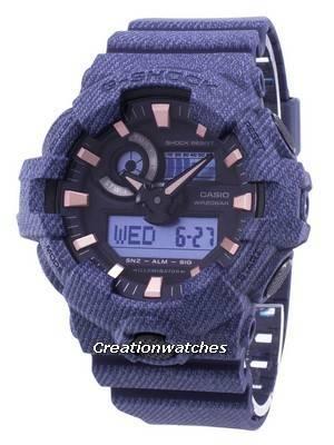 Casio G-Shock Illuminator Shock Resistant 200M GA-700DE-2A GA700DE-2A Men's Watch