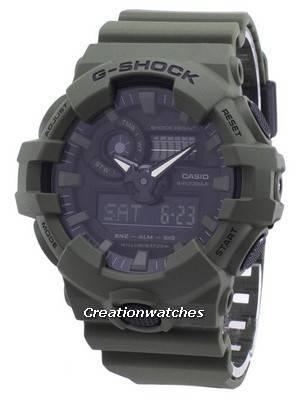 Casio Illuminator G-Shock Analog Digital GA-700UC-3A GA700UC-3A Men's Watch