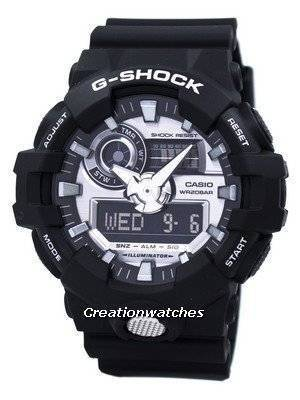 Casio G-Shock Analog Digital 200M GA-710-1A Men's Watch