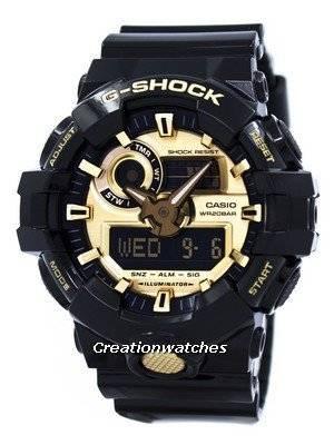 Casio G-Shock Analog Digital 200M GA-710GB-1A GA710GB-1A Men's Watch