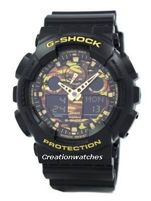 Casio G-Shock Camouflage Series GA-100CF-1A9 Men's Watch