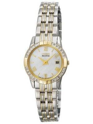 Citizen Eco-Drive Crystal GA1014-54D Women's Watch