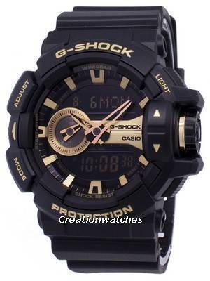 Casio G-Shock Analog Digital World Time GA-400GB-1A9 Men's Watch