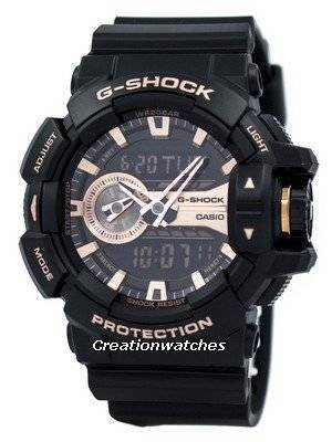 Casio G-Shock Analog Digital World Time GA-400GB-1A4 Men's Watch