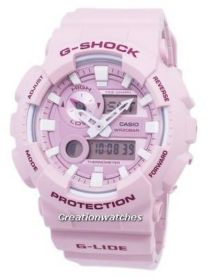 Casio G-Shock G-Lide Tide Graph Analog Digital GAX-100CSA-4A GAX100CSA-4A Men's Watch
