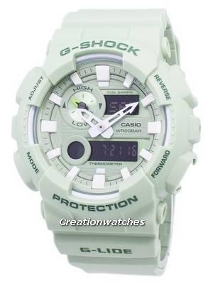 Casio G-Shock G-Lide Tide Graph Analog Digital GAX-100CSB-3A GAX100CSB-3A Men's Watch