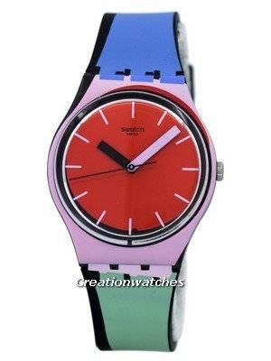 Swatch Originals A Cote Quartz Multicolor GB286 Unisex Watch