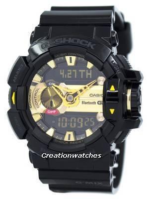 Casio G-Shock G'MIX Bluetooth Smart World Time Analog-Digital GBA-400-1A9 Men's Watch